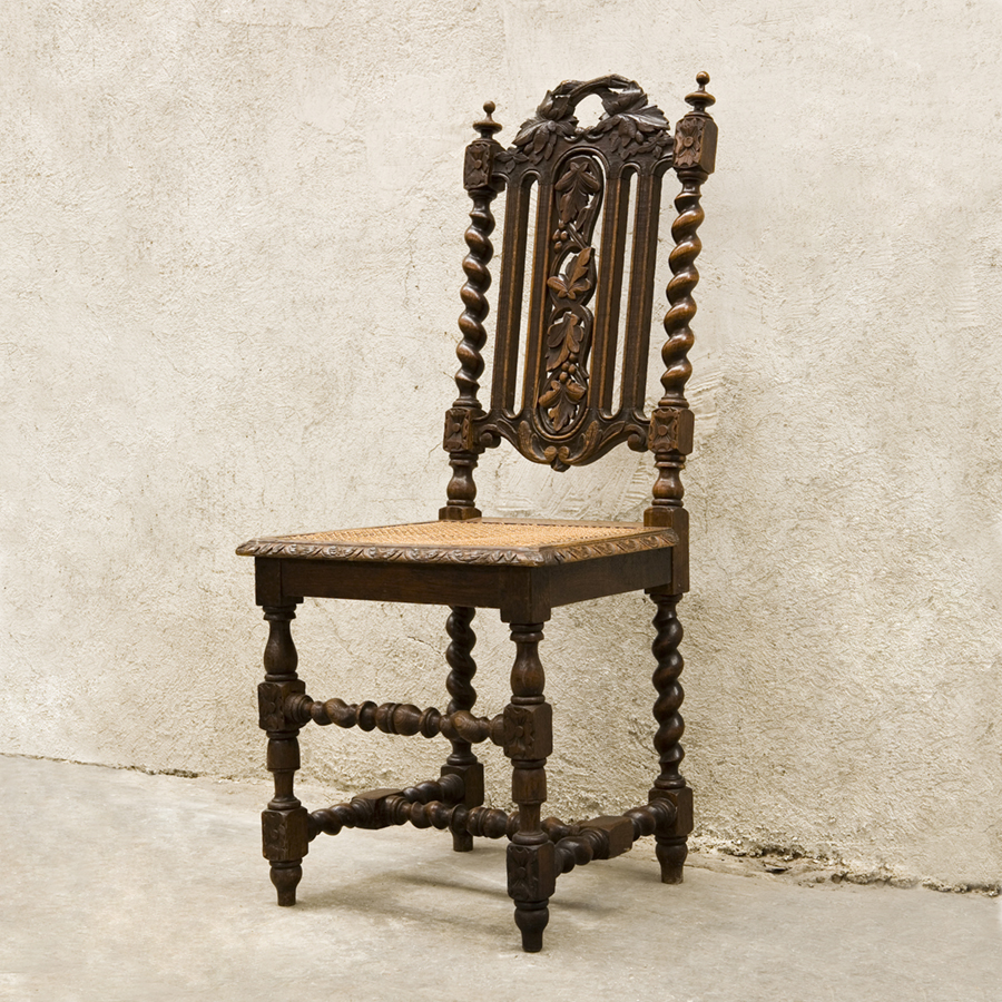 Antique chair Louis XIII style Antique chair Louis XIII style - Antique Chair Louis XIII Style SOLD Glossary Depot