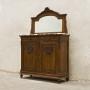 Антична мебел за тоалет (умивалник) с огледало