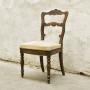 Стол с бродирана седалка
