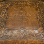 Ancient leather chairs, Henri II style