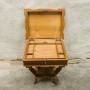 Индийска декоративна масичка – ковчеже с двойно дъно