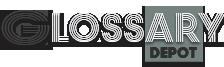 Logo Glossary Depot